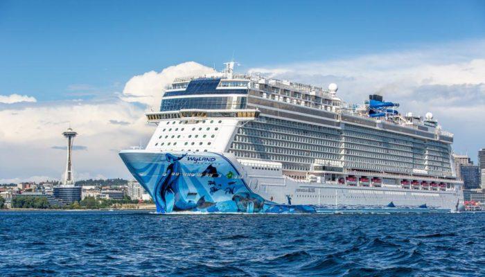 Major cruise ship leaves port of Seattle
